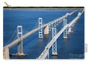The Chesapeake Bay Bridge Carry-all Pouch