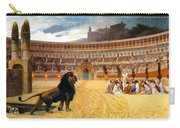 The Christian Martyrs' Last Prayer Carry-all Pouch by Jean Leon Gerome