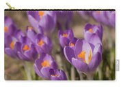 The Crocus Flowers Carry-all Pouch