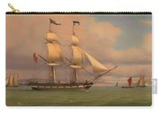 The English Brig Norval Before The Wind Carry-all Pouch