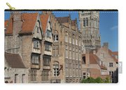 The Historic Center Of Bruges Carry-all Pouch