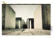The Holocaust Memorial Berlin Germany Carry-all Pouch