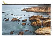 The Jagged Rocks And Cliffs Of Montana De Oro State Park In California Carry-all Pouch