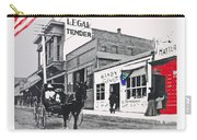 The Legal Tender Saloon 80 W. Congress Tucson Arizona C.1910-2013 Carry-all Pouch