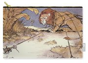 The Lion And The Mouse Carry-all Pouch