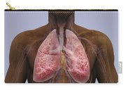 The Lungs And Cardiovascular System Carry-all Pouch