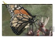 The Monarch Painterly Carry-all Pouch