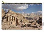 The Monastery El Deir Or Al Deir Carry-all Pouch