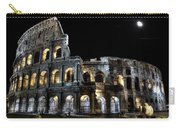 The Moon Above The Colosseum No2 Carry-all Pouch