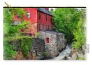 The Old Red Mill Jericho Vermont Carry-all Pouch