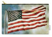 The Stars And Stripes Carry-all Pouch