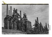 The Steel Mill In Black And White Carry-all Pouch