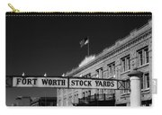 The Stock Yards Of Fort Worth Carry-all Pouch