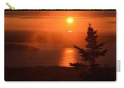 The Sunrise From Cadillac Mountain In Acadia National Park Carry-all Pouch