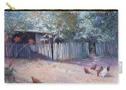 The White Picket Fence Carry-all Pouch