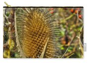 Thistle On Sunny Autumn Day Carry-all Pouch