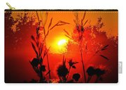 Thistles In The Sunset Carry-all Pouch