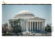 Thomas Jefferson Memorial In Washington Dc Usa Carry-all Pouch