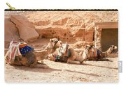 Three Camels Carry-all Pouch