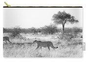 Three Cheetahs At Mashatu Carry-all Pouch