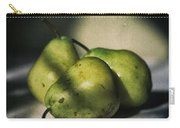 Three Pears Green Carry-all Pouch