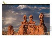 Three Sisters Hoodoos Goblin Valley Utah Carry-all Pouch