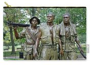 Three Soldiers Statue Carry-all Pouch