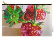 Three Strawberries Carry-all Pouch