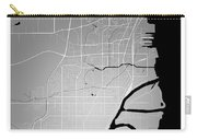 Thunder Bay Street Map - Thunder Bay Canada Road Map Art On Colo Carry-all Pouch