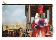 Tibetan Spaniel Art Canvas Print By Nobility Dogs Carry-all Pouch