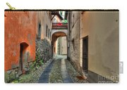Tight Alley With A Bridge Carry-all Pouch