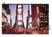 Times Square, Nyc, New York City, New Carry-all Pouch