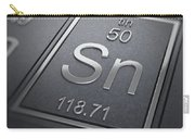 Tin Chemical Element Carry-all Pouch