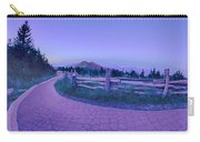 Top Of Mount Mitchell After Sunset Carry-all Pouch