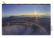 Top Of Mount Mitchell Before Sunset Carry-all Pouch