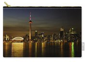 Toronto Evening Sky Line Panorama Carry-all Pouch