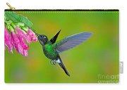 Tourmaline Sunangel Hummingbird Carry-all Pouch