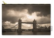 Tower Bridge In London Carry-all Pouch