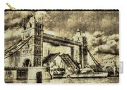 Tower Bridge Vintage Carry-all Pouch