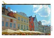 Town Square In Old Town Tallinn-estonia Carry-all Pouch