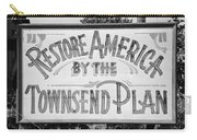 Townsend Plan, 1939 Carry-all Pouch