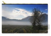 Tree With Fog Carry-all Pouch