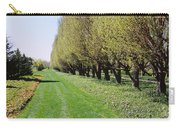 Trees Along A Walkway In A Botanical Carry-all Pouch