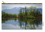 Trees And Lake Carry-all Pouch