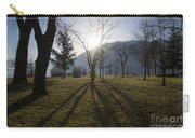 Trees In Backlit Carry-all Pouch