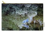Tri Colored Heron Carry-all Pouch
