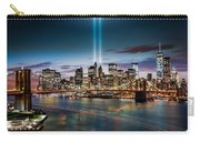 Tribute In Light Memorial Carry-all Pouch