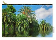 Tropical Exotic Jungle And Water Carry-all Pouch
