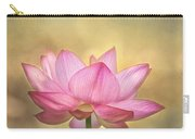 Tropical Lotus Flower Carry-all Pouch