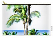 Tropical Palm Trees Carry-all Pouch